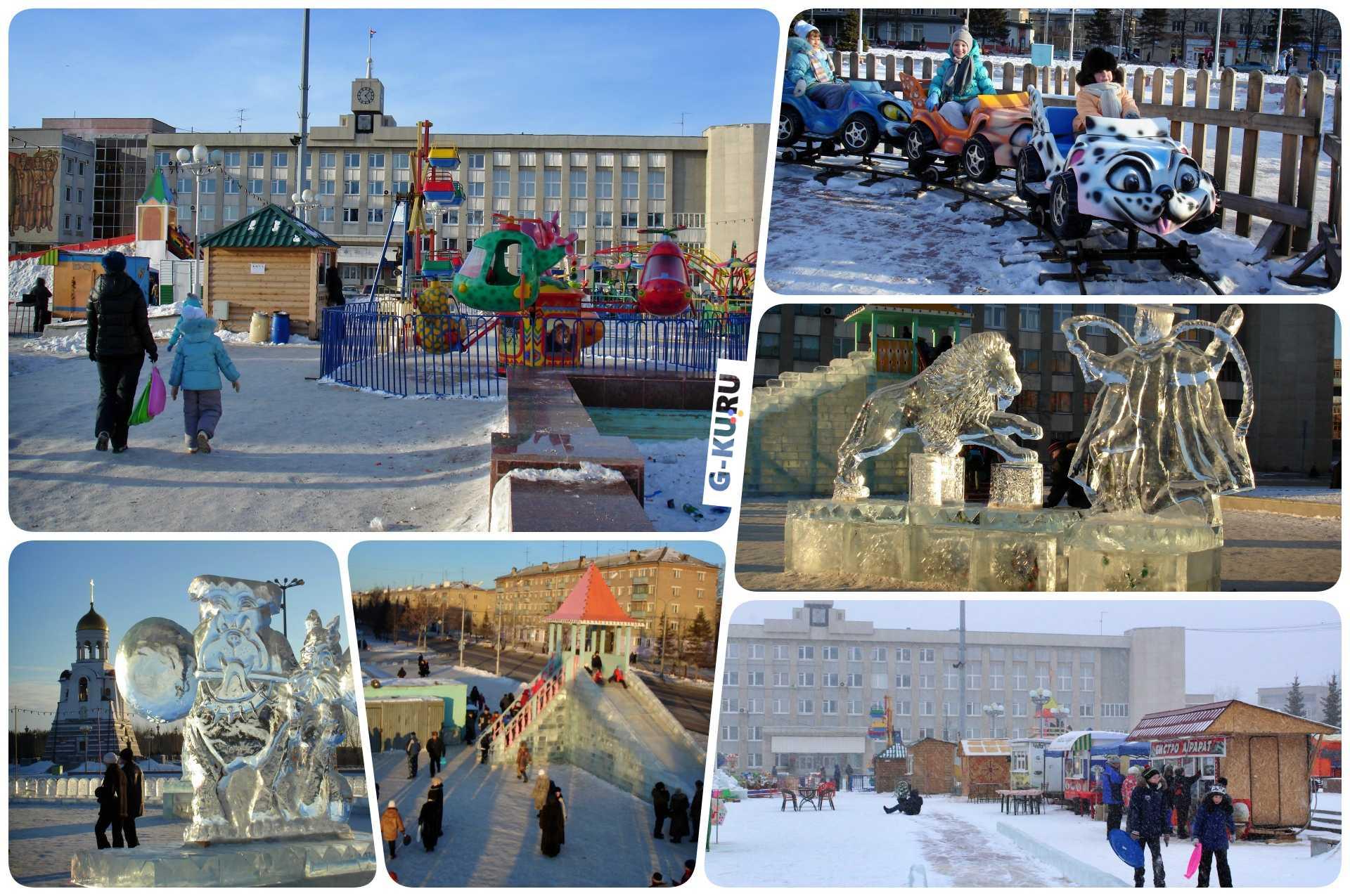 Каким будет новогодний городок в центре Каменска-Уральского