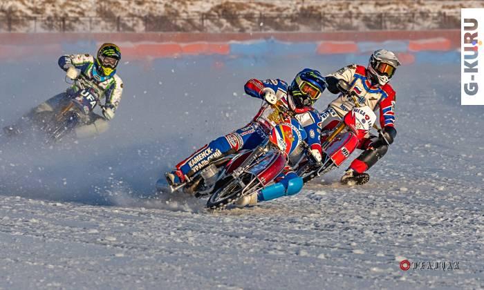 Спортсмены открыли сезон мотогонок на льду 2020 - 2021 в Каменске-Уральском!